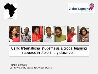 Using International students as a global learning resource in the primary classroom