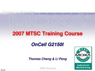 2007 MTSC Training Course