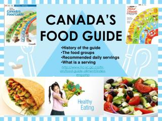 CANADA'S FOOD GUIDE