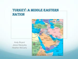 Turkey: A middle eastern nation