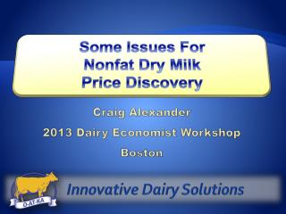 Innovative Dairy Solutions