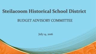 Steilacoom Historical School District