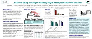 Methods - Testing Antibody (Ab)-plus-RNA testing reference standard:   The complete algorithm, including Ab and RNA test