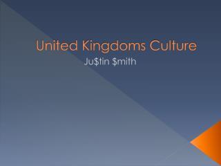United Kingdoms Culture