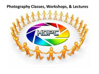 Photography Classes, Workshops, & Lectures