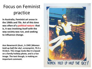 Focus on Feminist practice