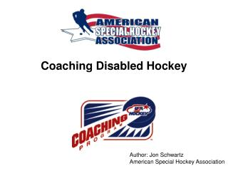 Coaching Disabled Hockey