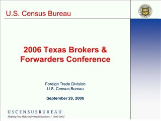 2006 texas brokers  forwarders conference
