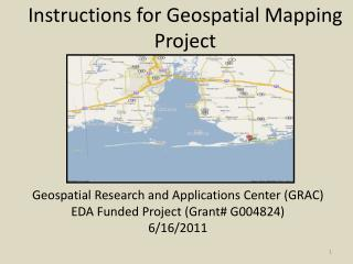 Instructions for Geospatial Mapping Project