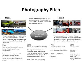 Photography Pitch