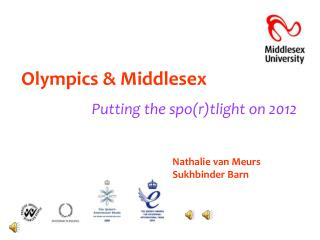 Olympics & Middlesex