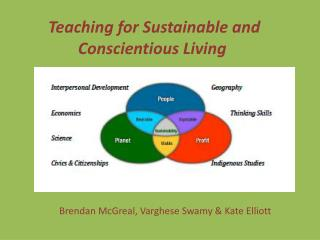 Teaching for Sustainable and Conscientious Living
