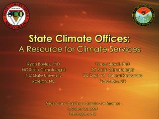 State Climate Offices: A Resource for Climate Services