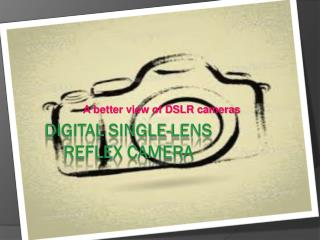 Digital single-lens reflex camera