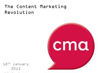 The Content Marketing Revolution