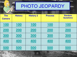 PHOTO JEOPARDY