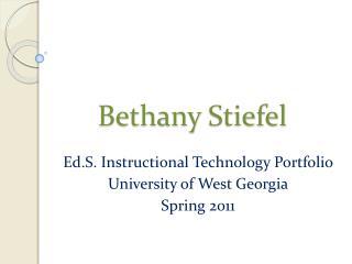 Bethany Stiefel
