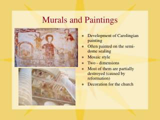 Murals and Paintings