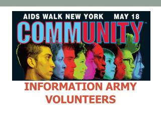 Information ARMY VOLUNTEERS