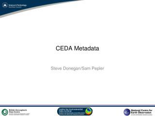 CEDA Metadata