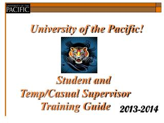 University of the Pacific!