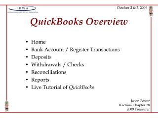 QuickBooks Overview
