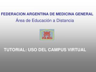Tutorial del Campus Virtual