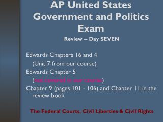 AP United States Government and Politics Exam
