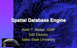 Spatial Database Engine
