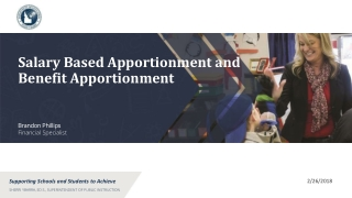 salary based apportionment and