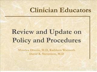 clinician educators
