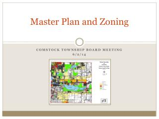 Master Plan  and Zoning
