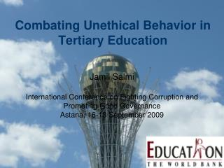 Combating Unethical Behavior in Tertiary Education