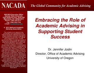 Embracing the Role of Academic Advising in Supporting Student Success