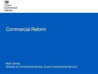 Commercial Reform