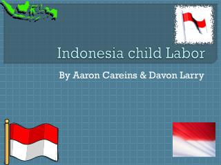 Indonesia child Labor