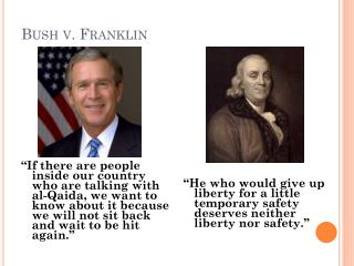 Bush v. Franklin