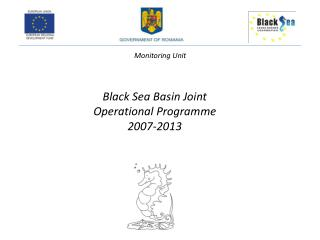 Black  Sea  Basin  Joint Operational  Programme  2007-2013