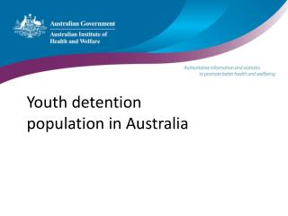Youth detention population in Australia