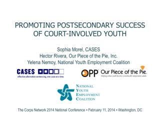 Promoting postsecondary success  of court-involved youth
