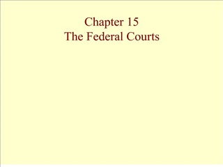 chapter 15 the federal courts