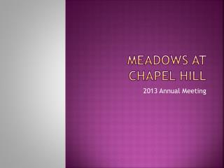 Meadows at Chapel Hill