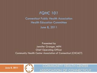 Community Health Center Association of Connecticut