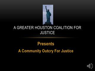 A Greater Houston Coalition for Justice