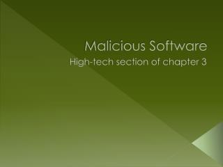 What is Malicious Code? Definition