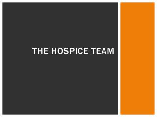 The Hospice Team