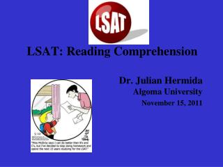 LSAT: Reading Comprehension