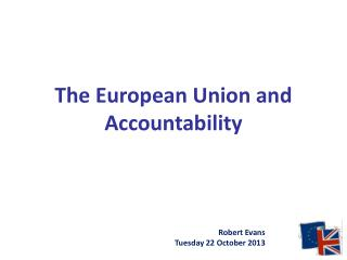 The European Union and Accountability