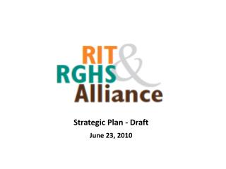 Strategic Plan - Draft