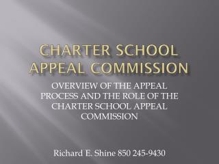 CHARTER SCHOOL APPEAL COMMISSION